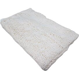 Hampton Throw Blanket in Shearling
