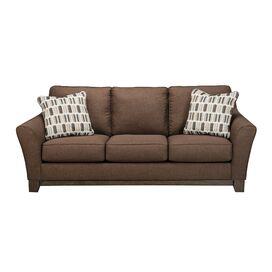 Janley 86'' Sofa in Chocolate