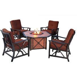 5-Piece Henley Fire Pit Seating Group