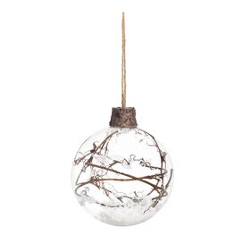 Vine Orb Ornament (Set of 2)