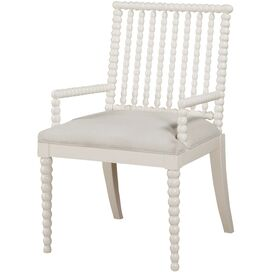 Stella Arm Chair in White