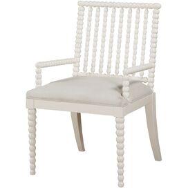 Stella Arm Chair in White