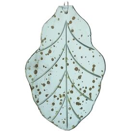 Etched Leaf Ornament