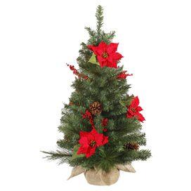 Faux Mini Pine Tree