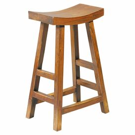 Lucy Counter Stool in Brown