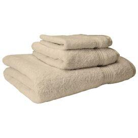 3-Piece Vivienne Egyptian Cotton Towel Set in Ivory