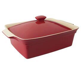 Lidded Stoneware Baking Dish