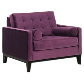 Tribeca Velvet Arm Chair