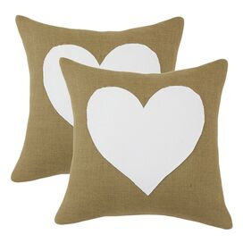 Heart Pillow (Set of 2)