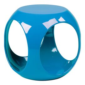 Harlowe End Table in Blue
