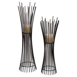 2-Piece Seychelles Candleholder Set