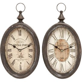 Abernathy Wall Clock (Set of 2)