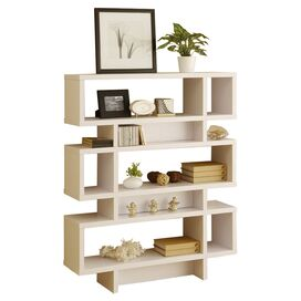 Celio Bookcase in White