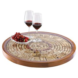 Elba Wine Cork Tray