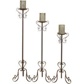 3-Piece Lucia Candleholder Set