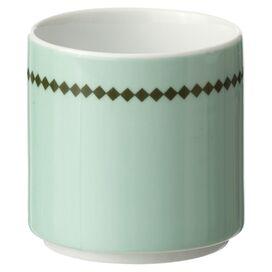Diamonds Porcelain Coffee Cup