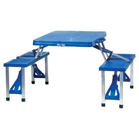 Acadia Portable Picnic Table in Royal Blue