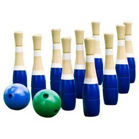12-Piece Sterling Lawn Bowling Set