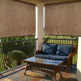 Indoor/Outdoor Sun Shade in Cocoa