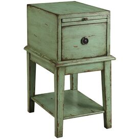 Lillian End Table in Green