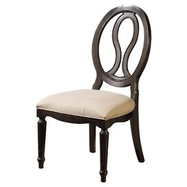 Leighanne Side Chair in Midnight
