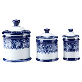 3-Piece Belmont Canister Set