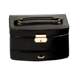 Jacqueline Leather Jewelry Case