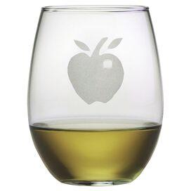 Apple Stemless Wine Glass (Set of 4)