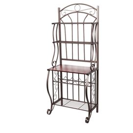 Old Dutch Baker's Rack in Copper