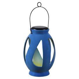 Valerie Solar Lantern in Blue