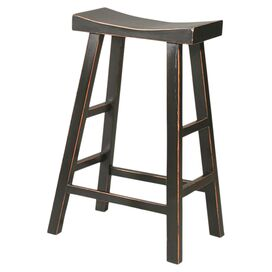 Lucy Counter Stool in Black