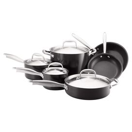 Anolon 10-Piece Stainless Steel Cookware Set