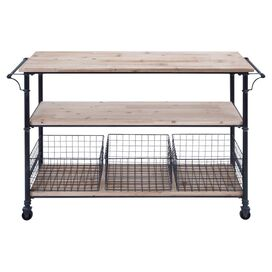 Declan Serving Cart
