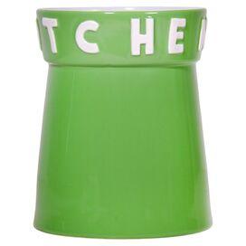 Kitchen Utensil Holder in Green