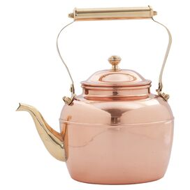 Old Dutch Daisy Copper Tea Kettle