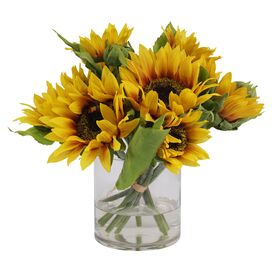 Faux Sunflower