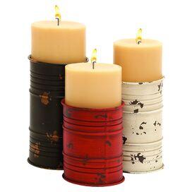 3-Piece Arcadia Candleholder Set