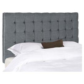 Leighton Upholstered Queen Headboard in Grey