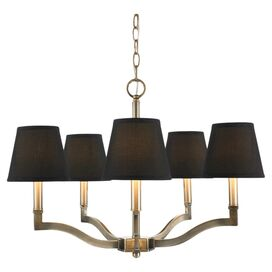 Ysabel Chandelier in Black