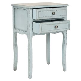 Lori Nightstand in Slate Green