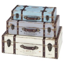 3-Piece Marion Trunk Set