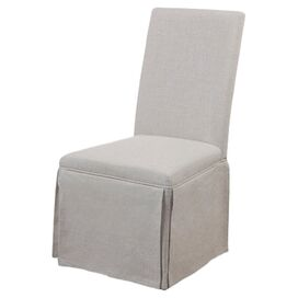 Allison Side Chair in Grey