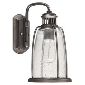 Royce Indoor/Outdoor Wall Lantern in Graphite