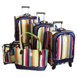 5-Piece Jillian Rolling Luggage Set