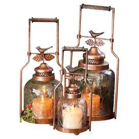 3-Piece Meadow Candleholder Set