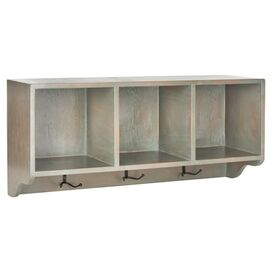 3-Cubby Wall Rack