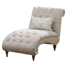 Faye Tufted Chaise