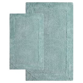 2-Piece Napoli Bath Mat Set in Moonstone