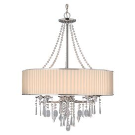 Paige Chandelier in Bridal Veil
