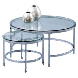 2-Piece Patinoire Cocktail Table Set